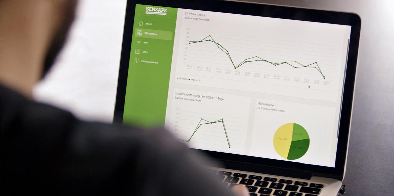 interface sensape website